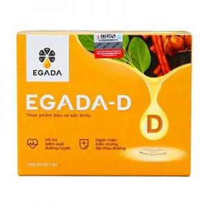 Egada D hỗ trợ kiểm soát đường huyết