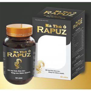 Hà Thủ Ô Rapuz hỗ trợ làm đen tóc