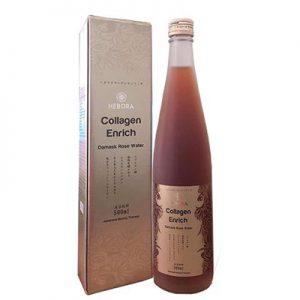 Hebora Collagen Enrich Damask Rose Water nhật bản