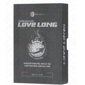 Love Long hiệu quả và an toàn khi sử dụng