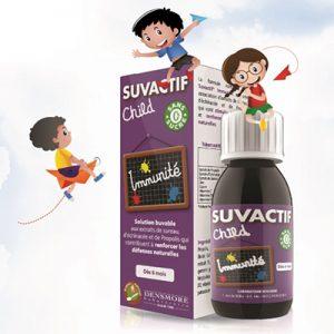 Suvactif Child Immunité nhập khẩu Pháp, dạng siro