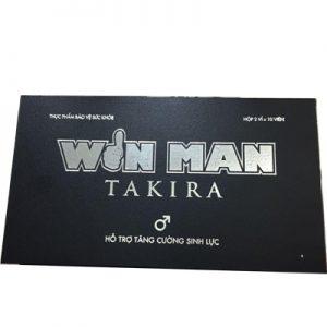 Win Man Takira hỗ trợ bổ thận tráng dương