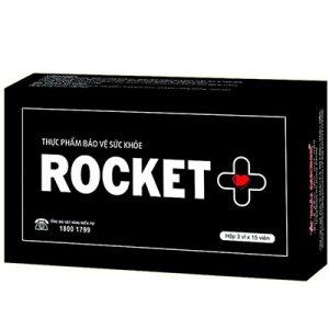 Rocket + hỗ trợ làm chậm mãn dục nam giới