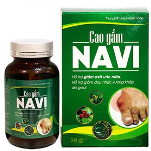 Cao Gắm Navi hỗ trợ giảm đau nhức xương khớp