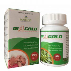 DIAGOLD hỗ trợ hạ đường huyết