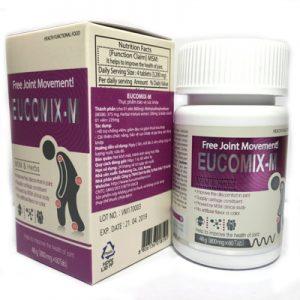EUCOMIX M hỗ trợ bảo vệ sụn khớp