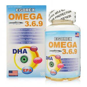 Egorex Omega 3.6.9 hỗ trợ bổ sung acid béo