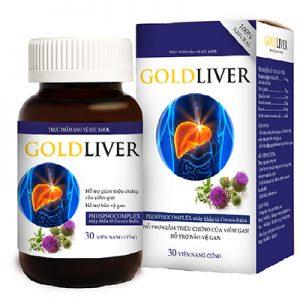 GoldLiver hỗ trợ giảm triệu chứng của viêm gan