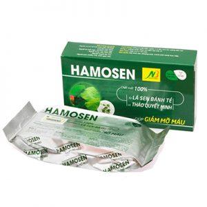 Hamosen hỗ trợ giảm mỡ máu