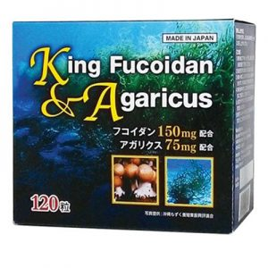 King Fucoidan & Agaricus hỗ trợ bệnh u bướu