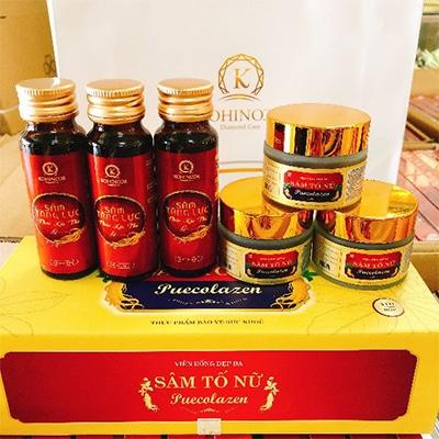 Sâm Tố Nữ Puecolazen và Sâm Tăng Lực Phúc Lộc Thọ và các sản phẩm của kohinoor
