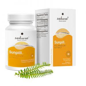 Sakura Sunpill hỗ trợ giảm tác hại của tia uv