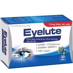 eyelute hỗ trợ tăng cường thị lực