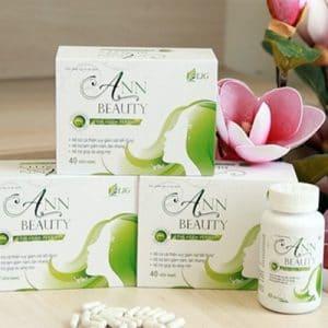 Ann Beauty hỗ trợ giảm nám, giúp sáng mịn da