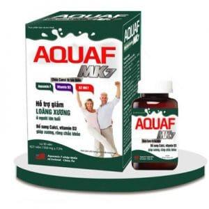 AquaF MK7 hỗ trợ bổ sung canxi