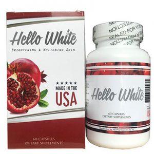 Hello White hỗ trợ làm sáng da, đẹp da
