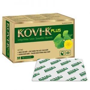 Kovi-K Plus hỗ trợ cải thiện thị lực