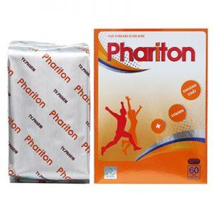 Phariton bổ sung vitamin và khoáng chất