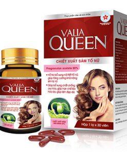 Valia Queen hỗ trợ bổ sung nội tiết tố, cải thiện sinh lý nữ