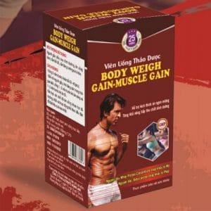 viên thảo dược Body Weigh Gain-Muscle Gain hỗ trợ ăn ngon miệng