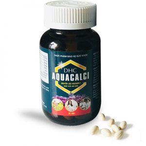 DHC Aquacalci hỗ trợ bổ sung canxi, vitamin D3