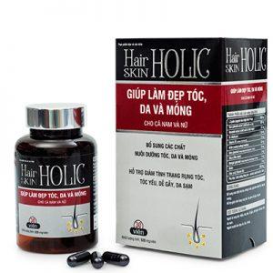 Hair Skin Holic giúp tóc móng và da đẹp
