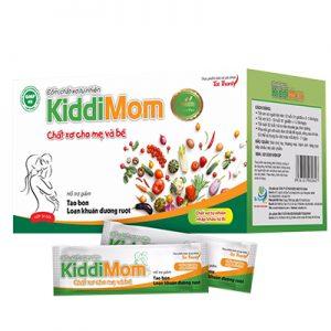 Kiddimom hỗ trợ bổ sung chất xơ