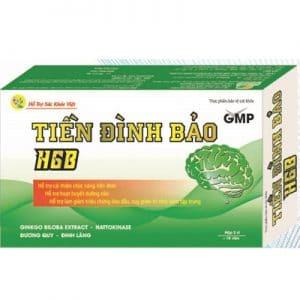 Tiền Đình Bảo HGB hỗ trợ hoạt huyết dưỡng não