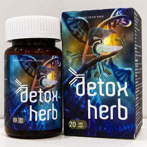 Detoxherb hỗ trợ thanh nhiệt giải độc gan