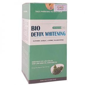 BIO Detox Whitening hỗ trợ da trắng sáng