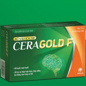 Viên nang cứng Bổ não ích trí Ceragold F