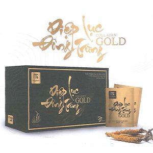 Diệp Lục Đông Trùng Collagen Gold hỗ trợ làm đẹp da