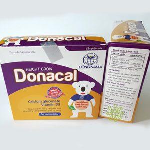 Donacal bô sung canxi và vitamin D