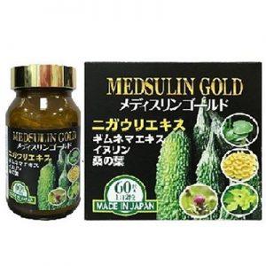 Medsulin Gold hỗ trợ hạ đường huyết