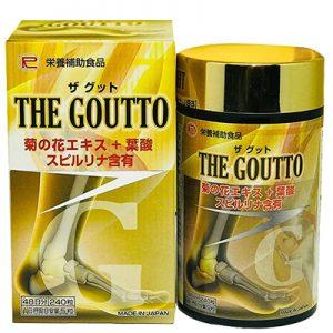 The Goutto hỗ trợ giảm sưng đau do gút
