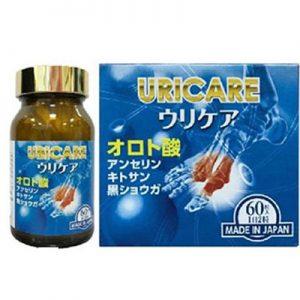 Uricare hỗ trợ giảm sưng đau do gout