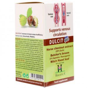 Dulcit hỗ trợ người suy giãn tĩnh mạch