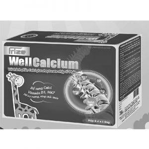 Frize Well Calcium hỗ trợ xương răng chắc khỏe