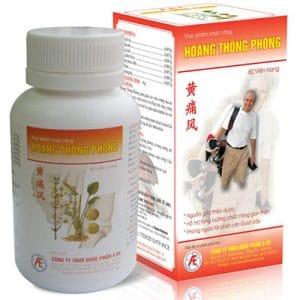 Hoàng Thống Phong hỗ trợ giảm đau do gout