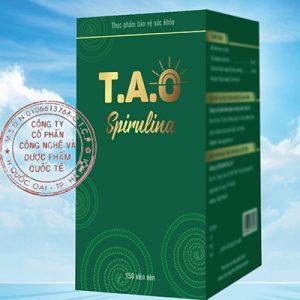 T.A.O Spirulina hỗ trợ nâng cao sức đề kháng