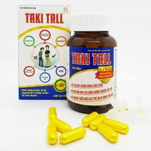 Taki Tall hỗ trợ bổ sung canxi và vitamin D3