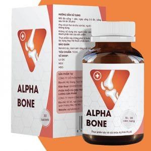 Alpha Bone hỗ trợ xương khớp chắc khỏe