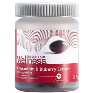 Astaxanthin & Bilberry Extract hỗ trợ giảm lão hóa