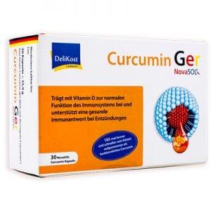 Curcumin Ger hỗ trợ chống oxy hóa,