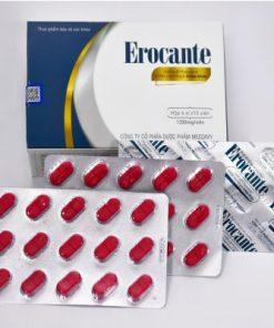 Erocante hỗ trợ tóc chắc khỏe