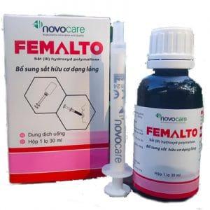 Femalto hỗ trợ bổ sung sắt
