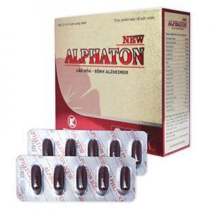 Alphaton NEW hỗ trợ bổ huyết lưu thông máu tốt