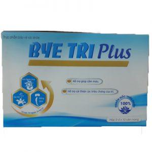 Bye Tri Plus hỗ trợ giảm triệu chứng của trĩ