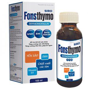 Fonsthymo hỗ trợ cho trẻ ăn ngon