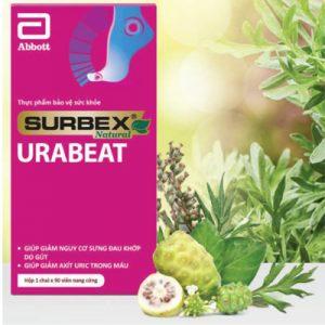 Surbex Natural Urabeat dành cho người bị gút